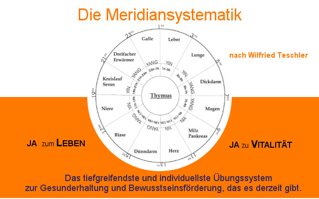 WORKSHOP – Meridiansystematik – Kennenlernen!